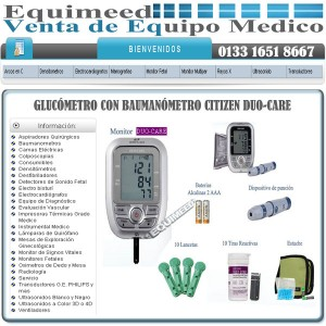 glucÓmetro con baumanÓmetro citizen duo-care