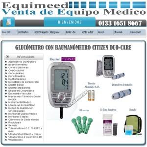 gluc�metro con bauman�metro citizen duo-care
