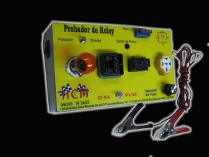 probador de relay automotriz