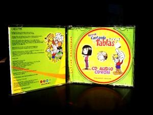 cd didactico aprende cantando las tablas