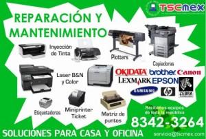 reparacion y mantenimiento de impresoras en monterrey