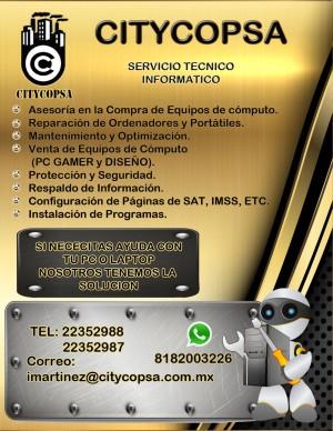reparación y mantenimiento de laptops y pcs pcgamer
