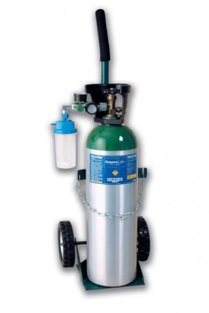 tanque de oxigeno medicinal mediano para enfermos
