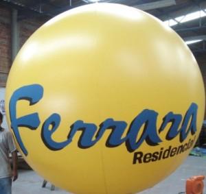 tenenemos a la venta esferas publicitarias con helio