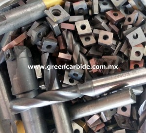 compramos desperdicio, scrap, desperdicio de carburo de tungsteno