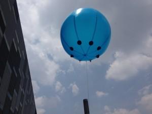 en venta globos publicitarios gigantes con logo