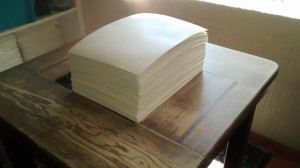 pergamino de 40 x 30 | pergamino para títulos y diplomas | pergamino