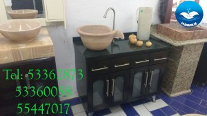 lavabo de marmol de super lujo pieza unica