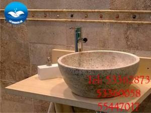 lavabos en mármol personalizados a la medida.