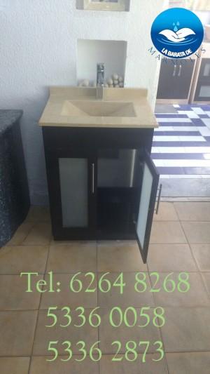 elegante lavabo con cubierta de marmol !!!