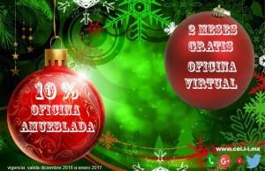 aproveche nuestras ofertas navideÑas en nuestras oficinas virtuales