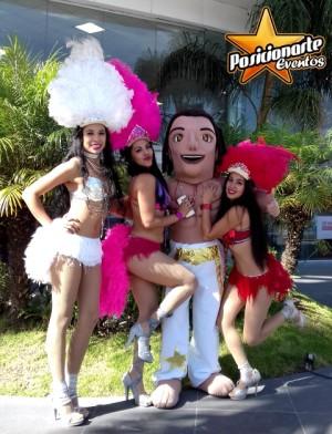 carnaval y desfiles: show de bailarinas. posicionarte eventos.