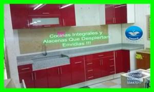 cocinas integrales rectas o en  escuadra de lujococinas rectas o en es