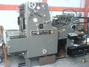 imprenta maquina heidelberg sormz 1 color 52x74  es 4 oficios