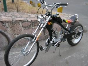 bicicleta chopper a motor, y otras cruiser y de montaÑa !!